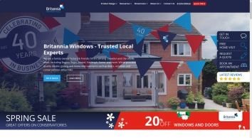 Britannia Windows, Doors, Conservatories and Home Improvements