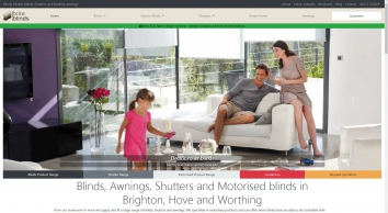 Blinds, motorised blinds, shutters and markilux awnings – in Brighton, Hove and Worthing | Brite Blinds