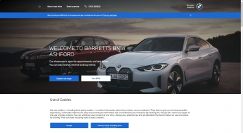 Barretts Ashford | New & Approved Used BMW Retailer