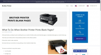 FIXED: Why Does My Brother Printer Printing Fully Blank Pages?