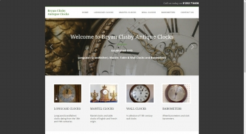 Bryan Clisby Antique Clocks