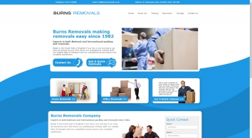 Burns Removal & Storage Services