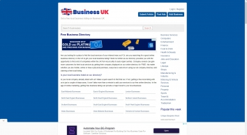 UK Business Directory | Online Directory of Local Listings