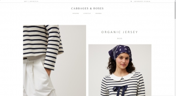 Welcome to the Cabbages & Roses Website