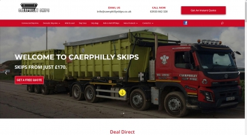 Caerphilly Skips - Leading Skip Hire Cardiff - Domestic & Commercial