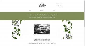 Café Below - fresh breakfast, lunch, events in the city of London