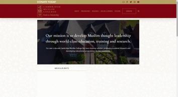 Cambridge Muslim College