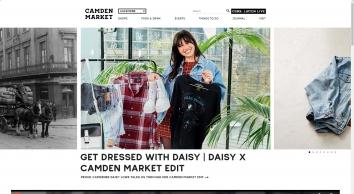 London Market - Best Outdoor Weekend Markets in London You Must See - Camden Market