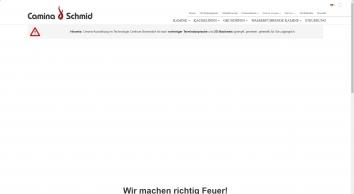 Kamin, Kaminofen & Co. von Camina & Schmid – Ihr Kaminhersteller | Camina & Schmid