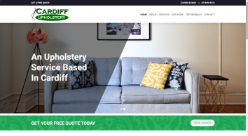 Cardiff Upholstery Re-upholstery of modern & antique furniture