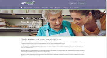 Carefound Home Care – Hourly Care & Live-In Care