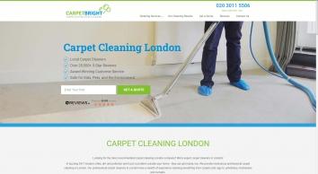 Carpet Cleaning London | Carpet Cleaners London | Carpet Bright UK