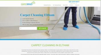 Carpet Cleaning Eltham   Carpet Cleaners   Carpet Bright UK