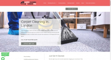 Carpet Cleaning London Pro - The Professional Carpet Cleaners in London