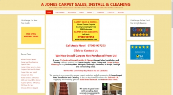 A Jones Carpet Fitting - Carpet Supply, Fitting & Refits