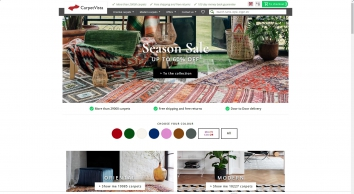 Handmade carpets and rugs online store