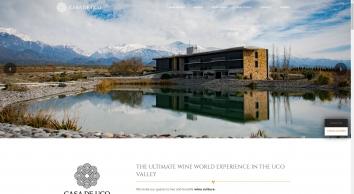 Hotels in Mendoza, Argentina: Casa de Uco Resort