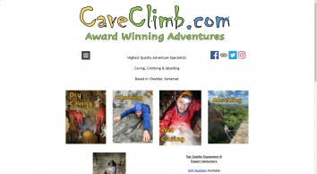 Caving, Climbing & Abseiling based in Cheddar, Somerset. - caveclimb May 2017