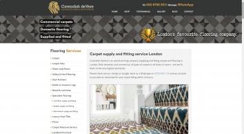 Carpets | Flooring  Contractor | Carpet Tiles | London | Cavendish deVere