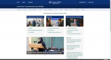 Centre for Commercial Law Studies (CCLS) - Centre for Commercial Law Studies