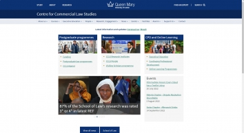 Centre for Commercial Law Studies (CCLS) - Centre for Commercial Law Studies