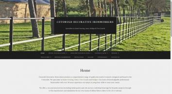 Decorative Ironwork - Cotswold Decorative Ironworks