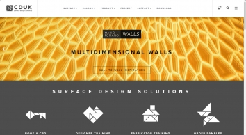 Distributors of Corian® Solid Surfaces - CD (UK) Limited