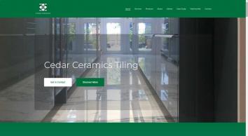 Cedar Ceramics Wall & Floor Tiling Services