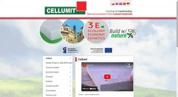 Cellumit - Termoizolacja z surowców naturalnych.
