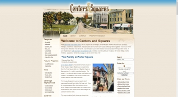 Cambridge Real Estate   Cambridge, MA Homes For Sale   Centers And Squares