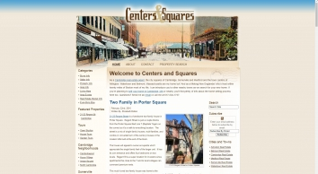 Cambridge Real Estate | Cambridge, MA Homes For Sale | Centers And Squares