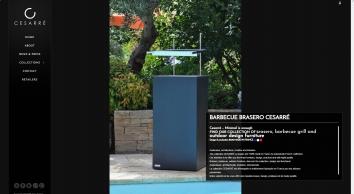 barbecue brasero cesarré