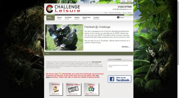 Challenge Leisure - Outdoor paintball shooting stag hen bournemouth