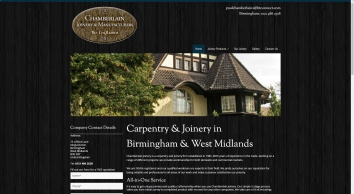 Home | Carpentry | Birmingham | Chamberlain Joinery & Manufacturers
