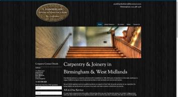 Home | Carpentry | Birmingham | Chamberlain Joinery & Manufacturers