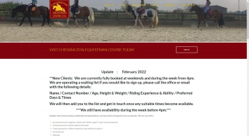Chessington Equestrian Centre