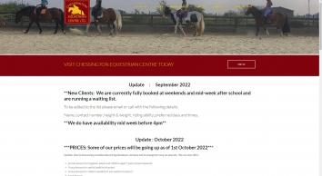 Chessington Equestrian Centre