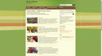 Choice Plants