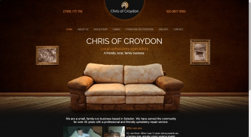 Chris of Croydon - Furniture upholstery specialists in South London