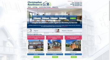 Christopher Rawlinson & Co Estate Agents in Wembley and Harrow