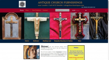 Antique Church Furnishings