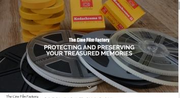 Cine Film Transfer Specialists - The Cine Film Factory
