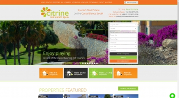 Citrine Real Estate Spain, Alicante