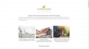 Citrus Sleep