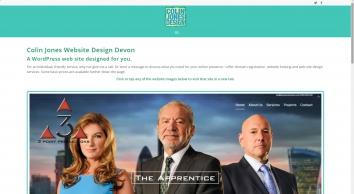 Colin Jones Website Design