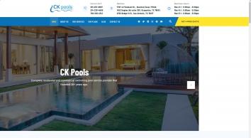 Ckpools | Pool Service Company | Swimming Pool Maintenance