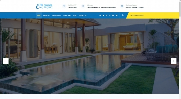Ckpools | Pool Service Company | Swimming Pool Maintenance