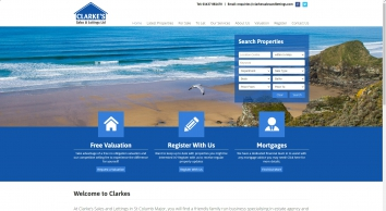Clarke's Sales and Lettings | St Columb Major, Cornwall