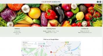 Clifton Greens | Fruit and Vegetables