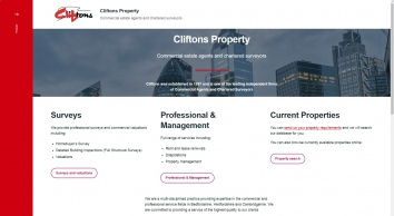 Cliftons Commercial Property